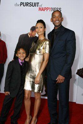 Will Smith, Thandie Newton, and Jaden Smith at an event for The Pursuit of Happyness (2006)