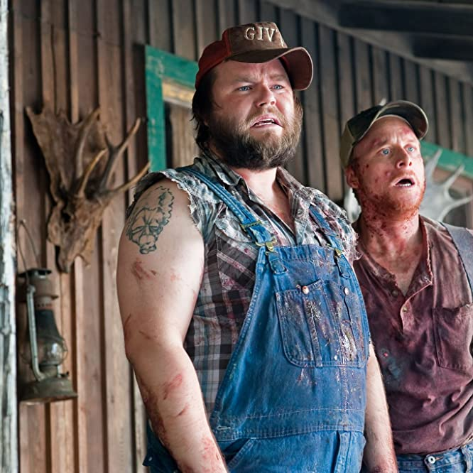 Tyler Labine and Alan Tudyk in Tucker and Dale vs Evil (2010)