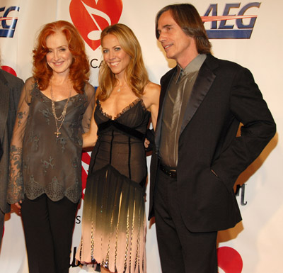 Sheryl Crow, Jackson Browne, and Bonnie Raitt
