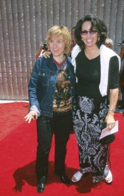 Julie Cypher and Melissa Etheridge at Star Wars: Episode I - The Phantom Menace (1999)