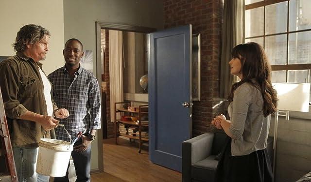 Zooey Deschanel, Jeff Kober, and Lamorne Morris in New Girl (2011)