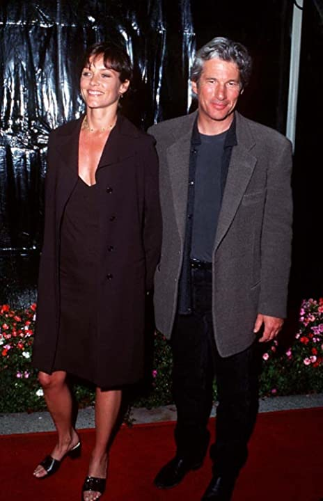 Richard Gere and Carey Lowell at Primal Fear (1996)
