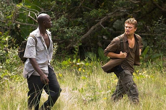 Leonardo DiCaprio and Djimon Hounsou in Blood Diamond (2006)