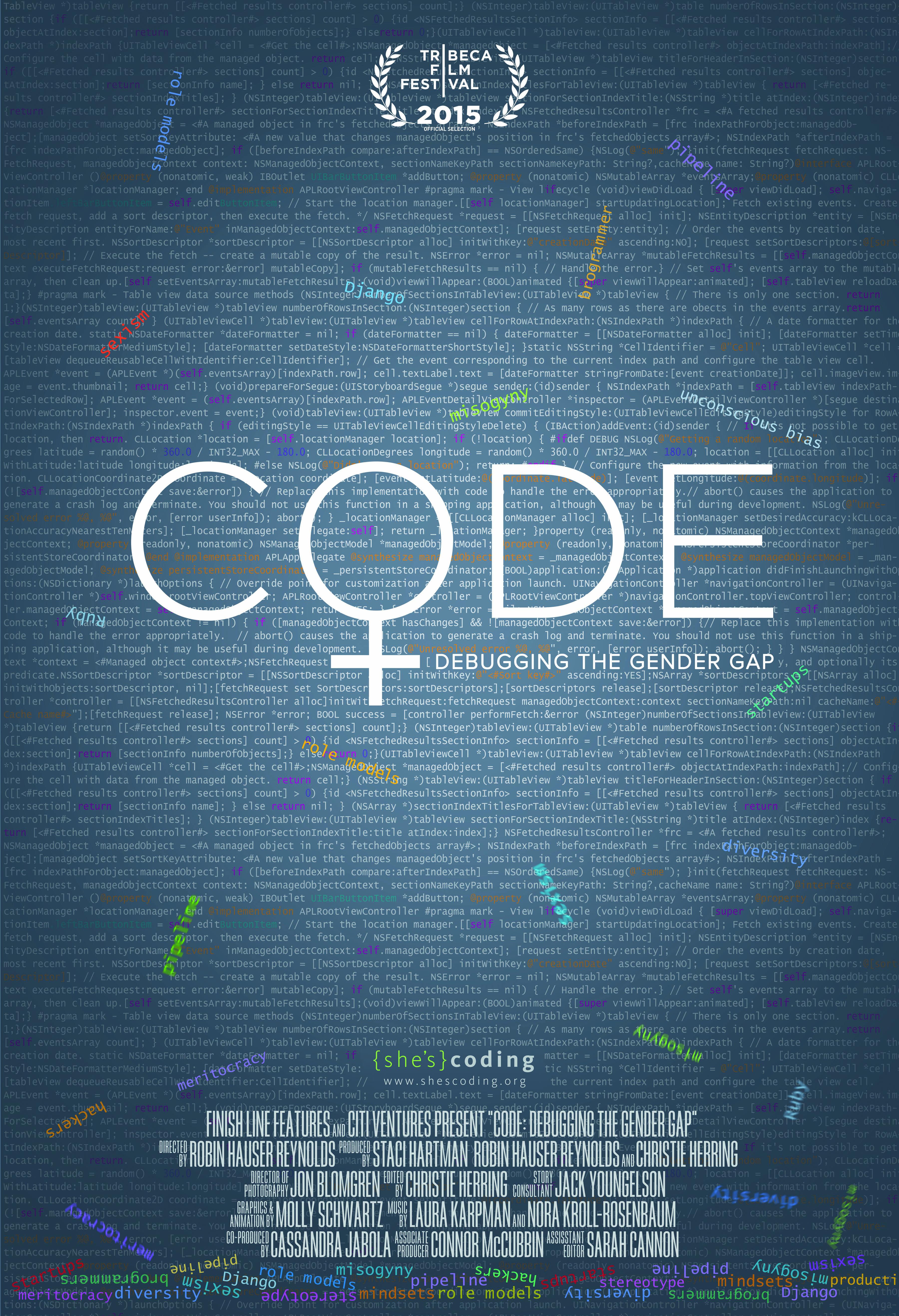 image CODE: Debugging the Gender Gap Watch Full Movie Free Online