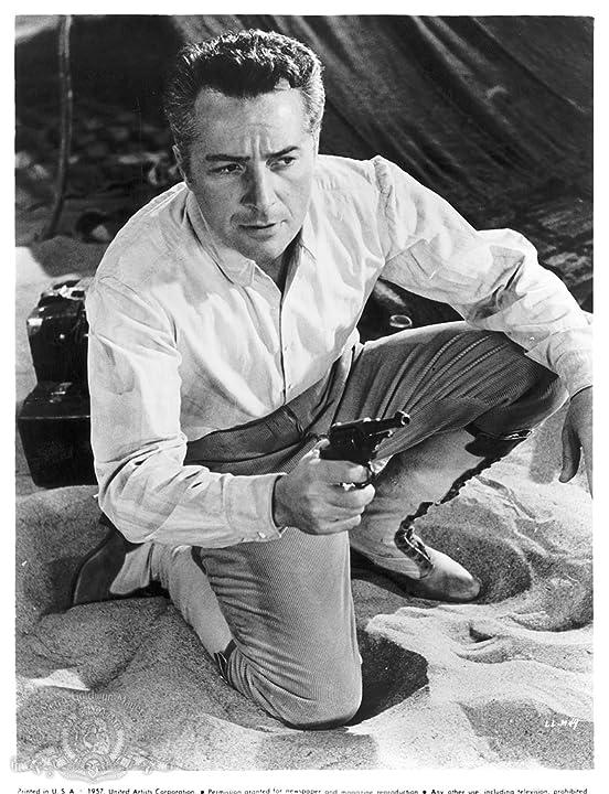 Rossano Brazzi in Legend of the Lost (1957)