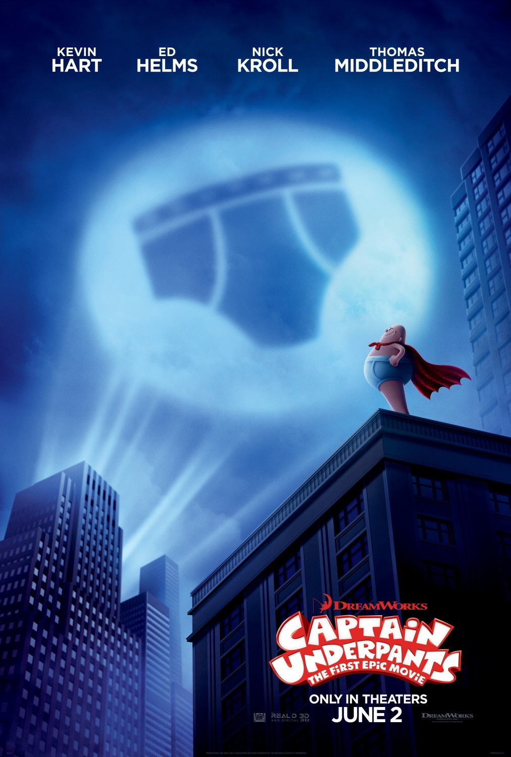 Captain Underpants: The First Epic Movie (2017) - Now Playing In Theaters