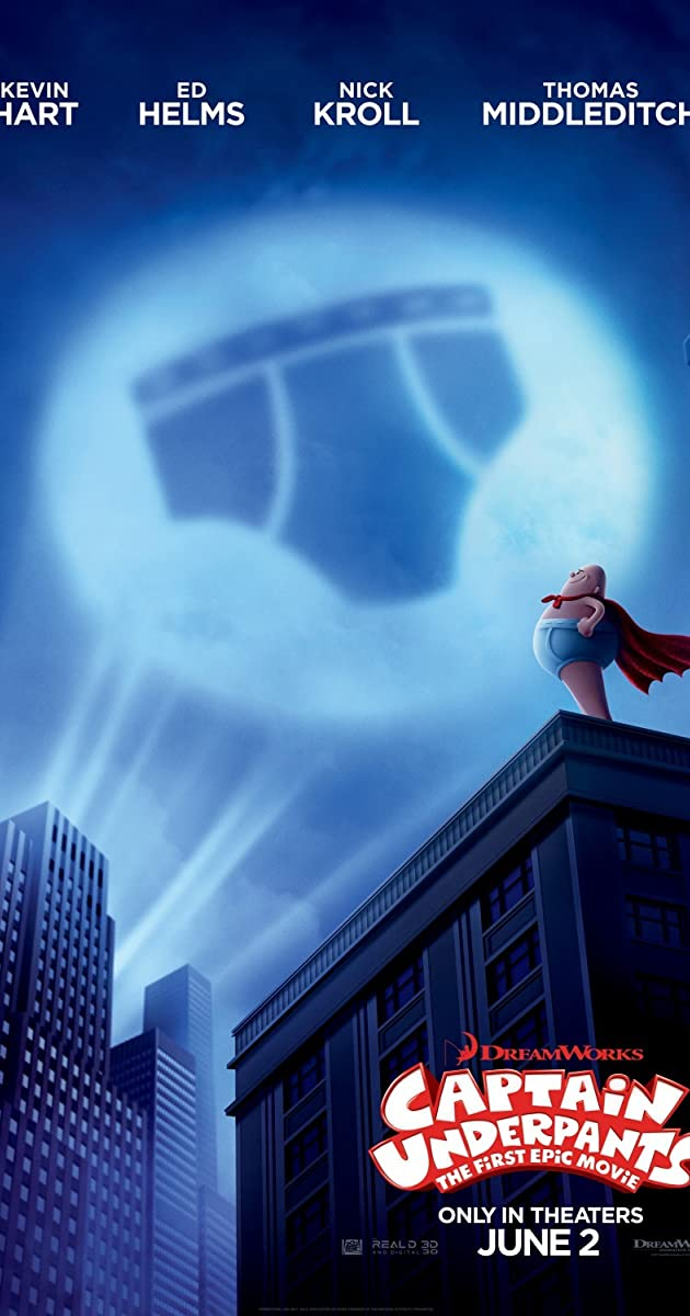 Captain Underpants: The First Epic Movie (2017) Online