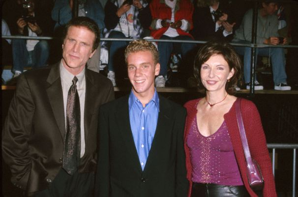 Ted Danson and Mary Steenburgen at an event for The World Is Not Enough (1999)