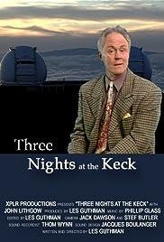 Three Nights at the Keck Poster