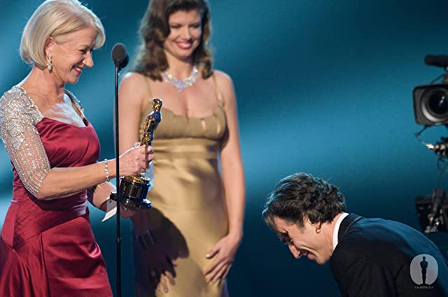 Daniel Day-Lewis and Helen Mirren at The 80th Annual Academy Awards (2008)