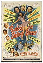 Babes on Swing Street Poster
