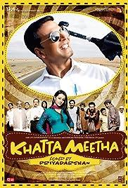 Khatta Meetha(2010) Poster - Movie Forum, Cast, Reviews