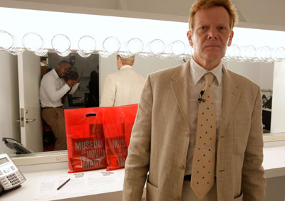 Philippe Petit at Man on Wire (2008)