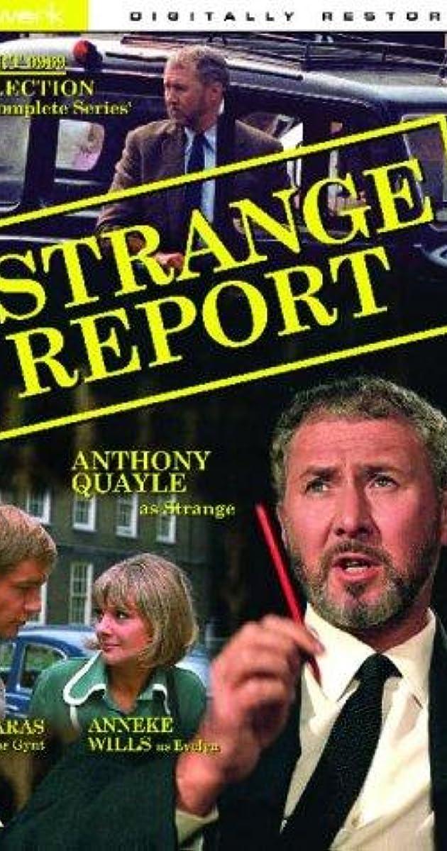 Strange Report (TV Series 1968– ) - IMDb