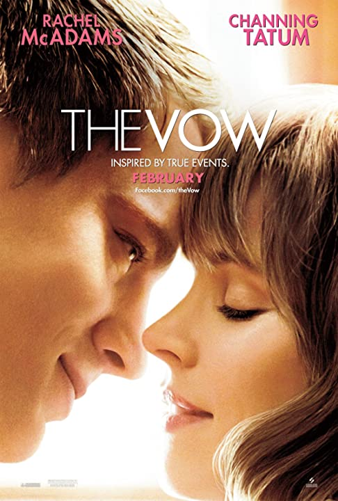 Rachel McAdams and Channing Tatum in The Vow (2012)