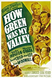 How Green Was My Valley (1941) Poster - Movie Forum, Cast, Reviews