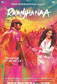 Raanjhanaa 2013 WEBRip Hindi 480p 390MB MKV