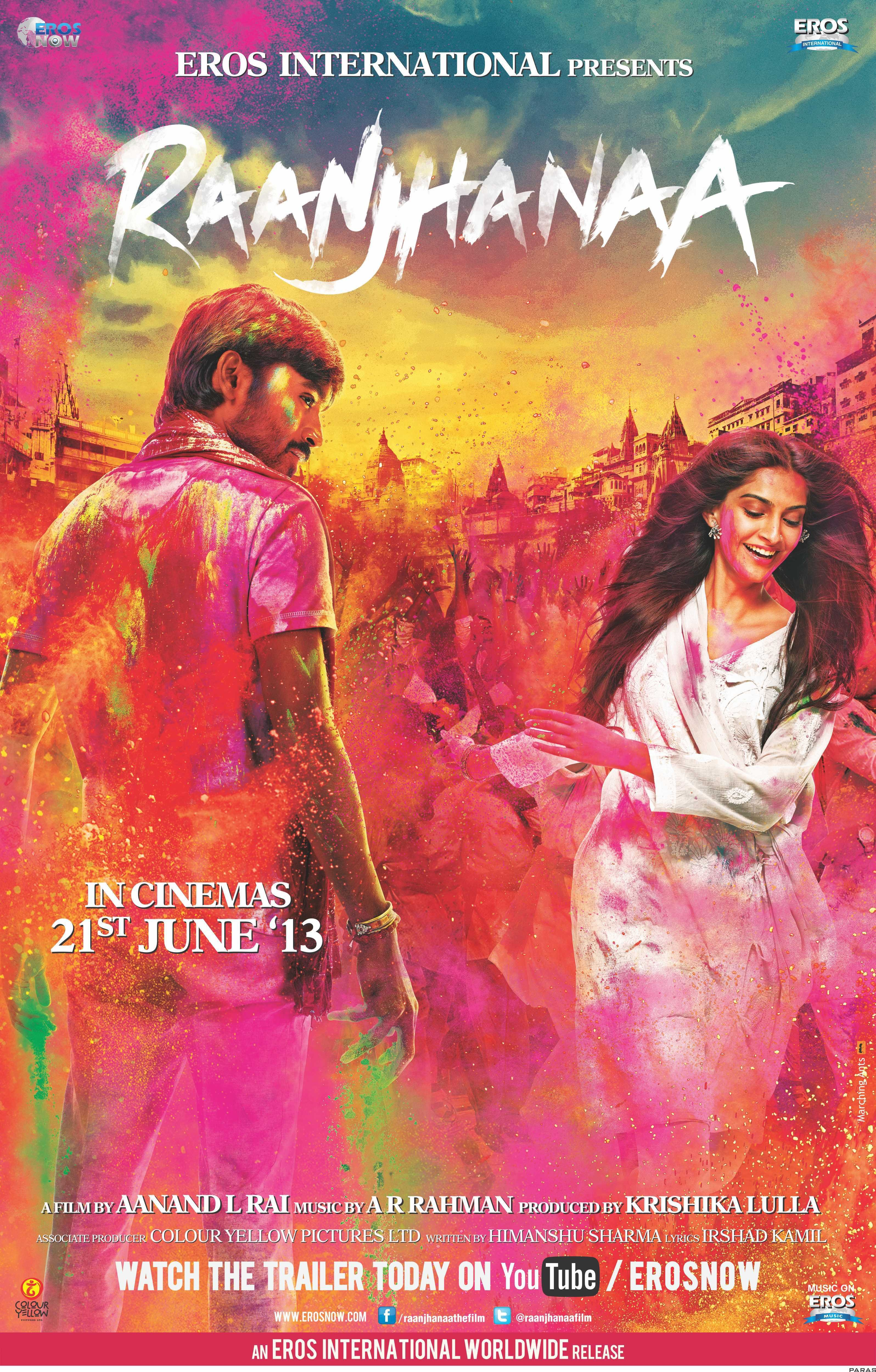 Image Raanjhanaa Watch Full Movie Free Online