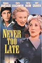 Image of Never Too Late