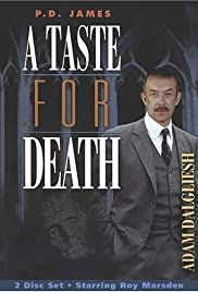 A Taste for Death Poster - TV Show Forum, Cast, Reviews