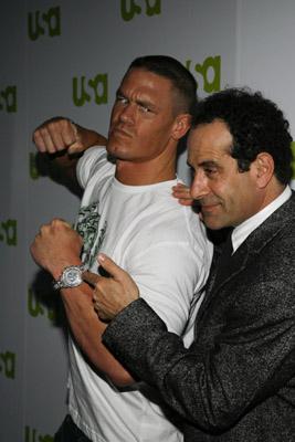 Tony Shalhoub and John Cena
