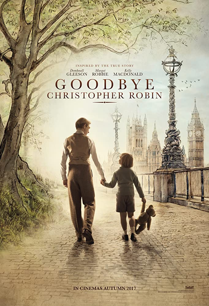 Domhnall Gleeson and Will Tilston in Goodbye Christopher Robin (2017)