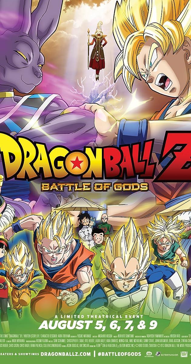 Drakonų Kova Z: Dievų mūšis / Dragon Ball Z: Battle of Gods (2013) Online