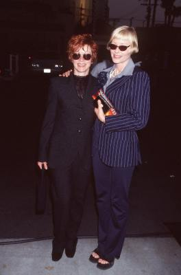 Frances Fisher at an event for Deep Impact (1998)