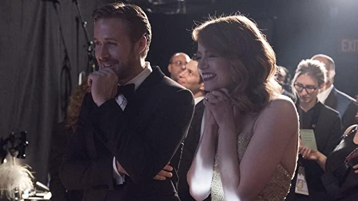 Ryan Gosling and Emma Stone at an event for The Oscars (2017)