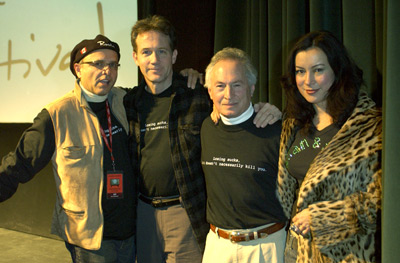 Jennifer Tilly, Joe Pantoliano, Boyd Gaines, and Eric Weber at Second Best (2004)