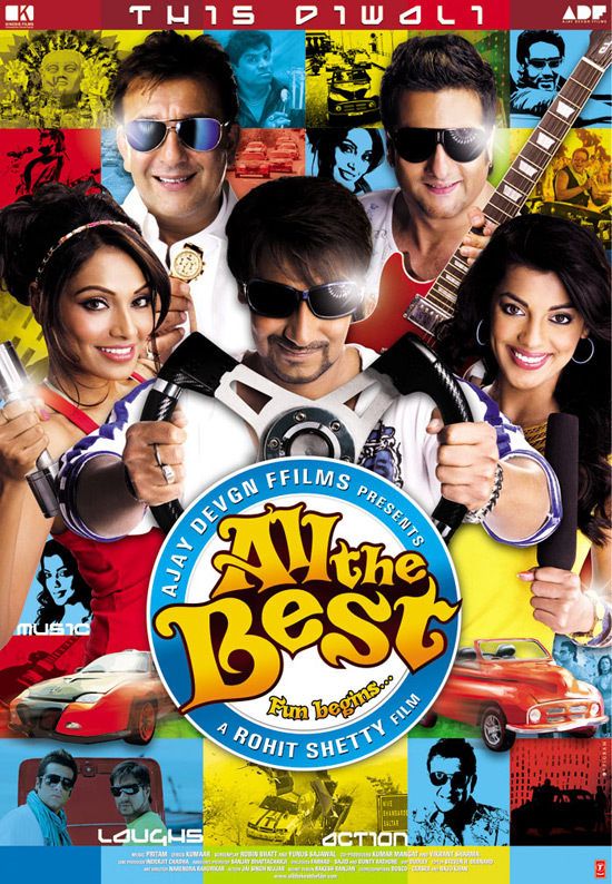 All the Best 2009 Hindi 720p BluRay 300MB Movies