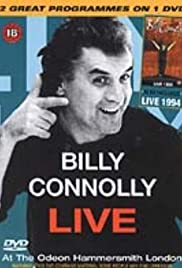 Billy Connolly Live at the Odeon Hammersmith London Poster