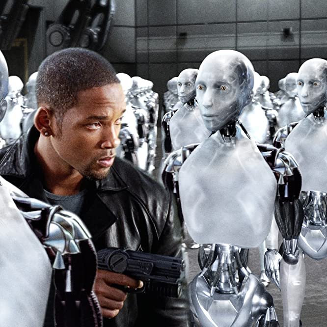 Will Smith in I, Robot (2004)