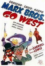 Go West(1940) Poster - Movie Forum, Cast, Reviews