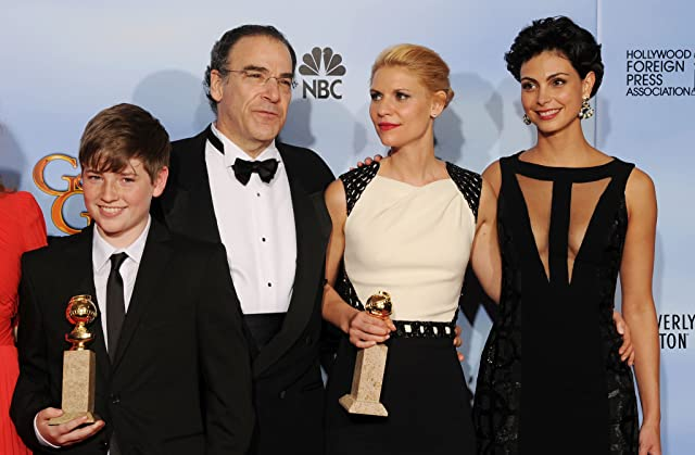 Claire Danes, Mandy Patinkin, Morena Baccarin, and Jackson Pace