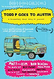 Todd P Goes to Austin Poster