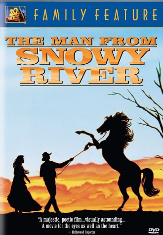 Image result for the man from snowy river 1982 poster