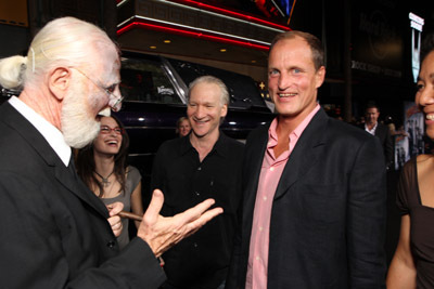 Woody Harrelson and Bill Maher at an event for Zombieland (2009)