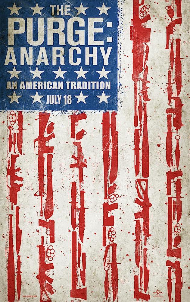 The Purge (2013), The Purge: Anarchy (2014), The Purge: Election Year (2016) MV5BMjE2ODMxMTk1Nl5BMl5BanBnXkFtZTgwMDEzNjEzMTE@._V1_SY1000_CR0,0,631,1000_AL_