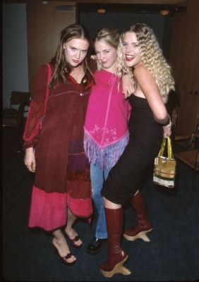 Dominique Swain, Busy Philipps, and Keri Lynn Pratt at The Smokers (2000)