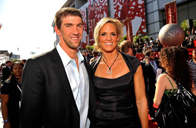 Michael Phelps and Dara Torres