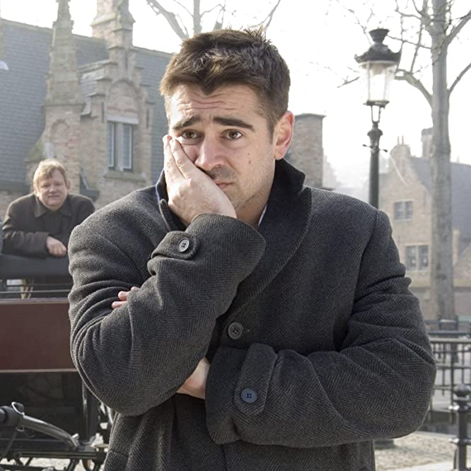 Colin Farrell and Brendan Gleeson in In Bruges (2008)