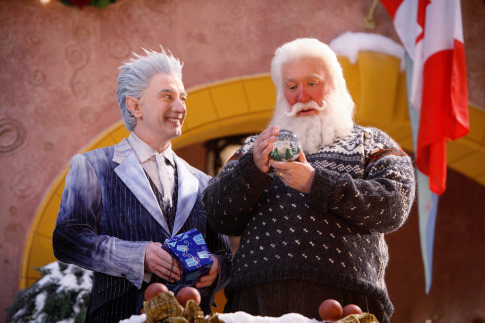 Tim Allen and Martin Short in The Santa Clause 3: The Escape Clause (2006)
