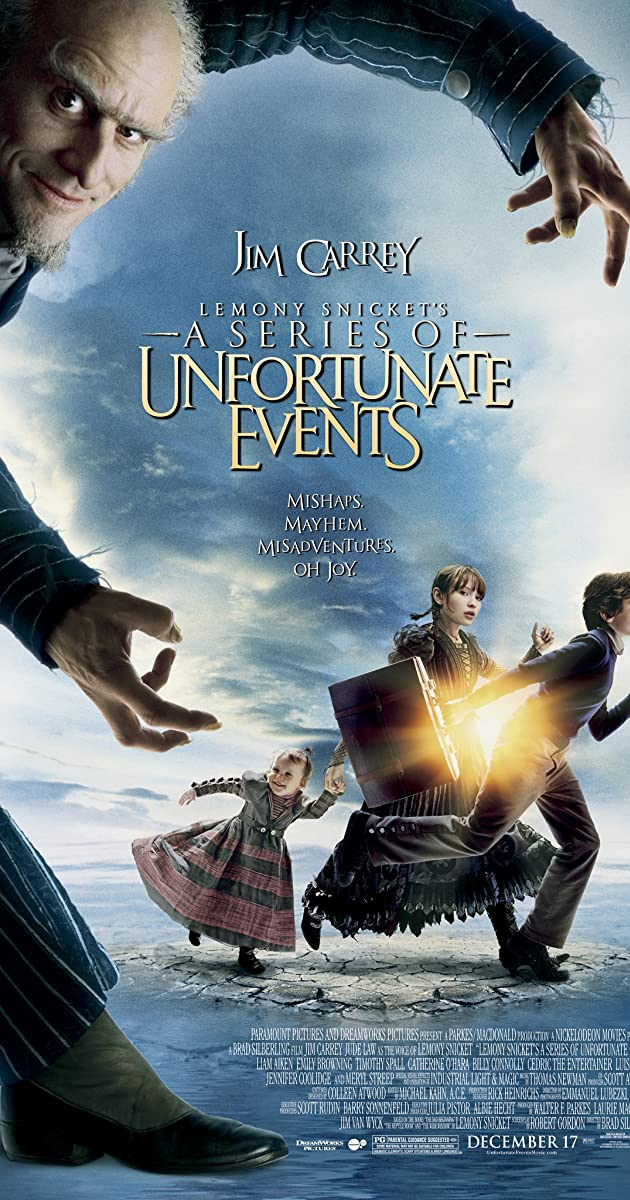 a series of unfortunate events imdb
