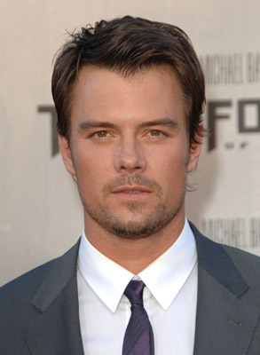 Josh Duhamel at Transformers: Revenge of the Fallen (2009)