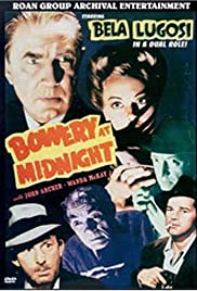 Bowery at Midnight (1942) Poster - Movie Forum, Cast, Reviews
