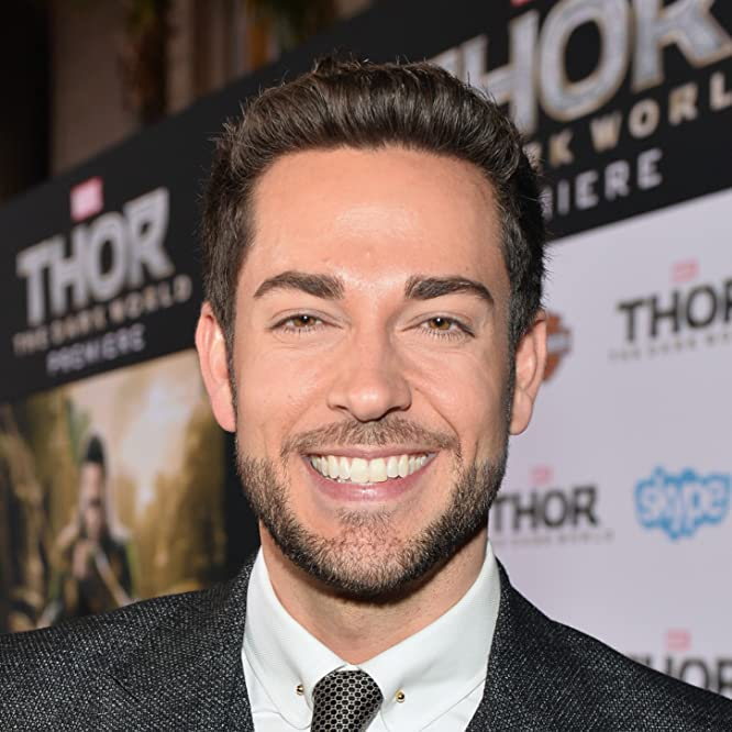 Zachary Levi at an event for Thor: The Dark World (2013)