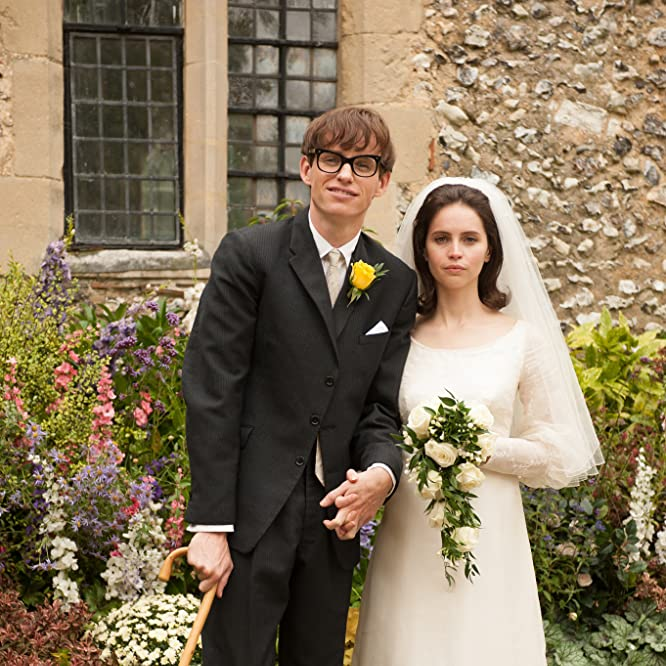 Felicity Jones and Eddie Redmayne in The Theory of Everything (2014)