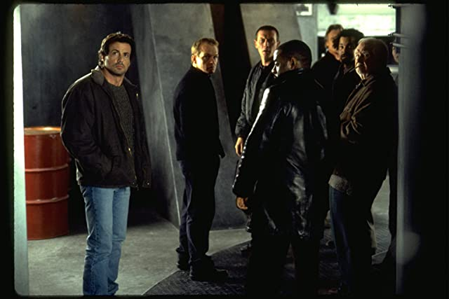 Sylvester Stallone, Robert Patrick, Courtney B. Vance, Christopher Fulford, Robert Prosky, and Jeffrey Wright in Eye See You (2002)