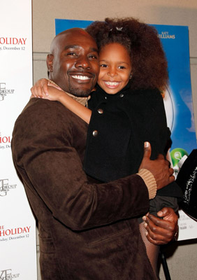 Morris Chestnut and Khail Bryant at The Perfect Holiday (2007)